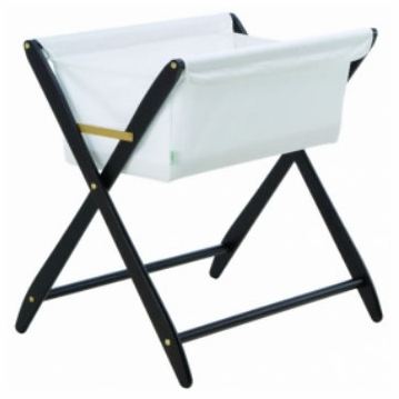 Cariboo Folding Bassinet in Espresso