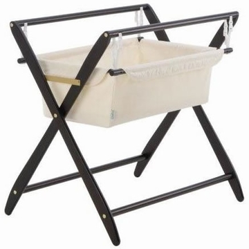 Cariboo Gentle Motions Bassinet in Espresso