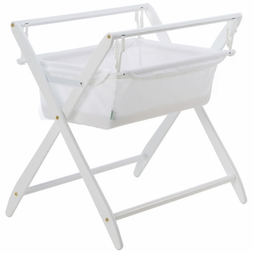 Cariboo Gentle Motions Bassinet in White