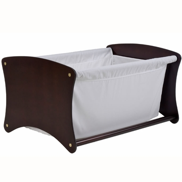 Cariboo Bassinet Toy Box Conversion in Mahogany
