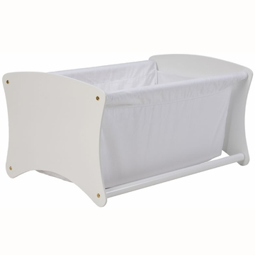 Cariboo Bassinet Toy Box Conversion in White