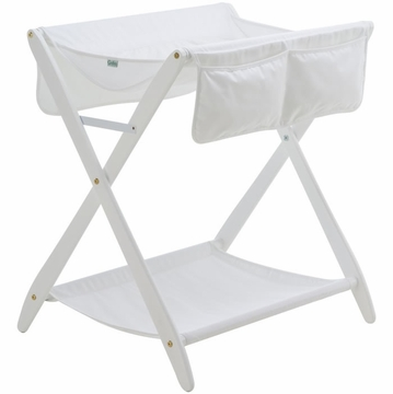 Cariboo Folding Changer in White