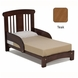 Cariboo Crib Toddler Bed Conversion in Teak