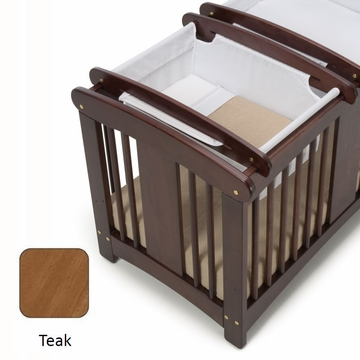 Cariboo Crib Top Bassinet in Teak