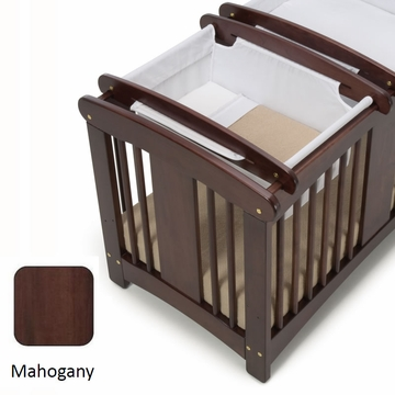 Cariboo Crib Top Bassinet in Mahogany