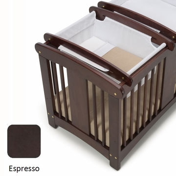 Cariboo Crib Top Bassinet in Espresso