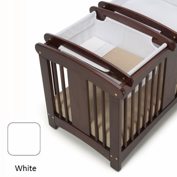 Cariboo Crib Top Bassinet in White