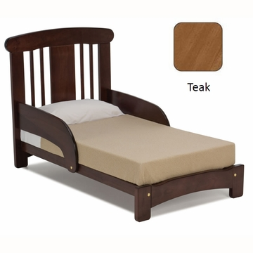 Cariboo Crib Toddler Bed Conversion in Mahogany