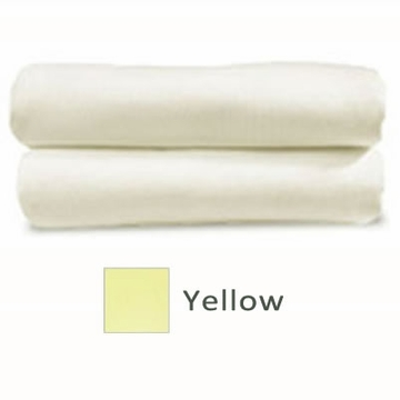 Cariboo Poly/Cotton Fitted Bassinet Sheet in Yellow