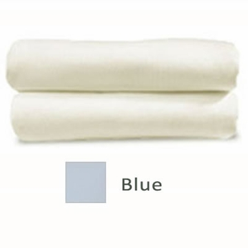 Cariboo Poly/Cotton Fitted Bassinet Sheet in Blue