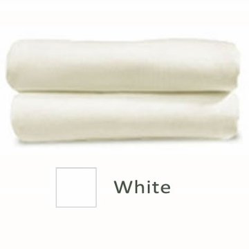 Cariboo Poly/Cotton Fitted Bassinet Sheet in White