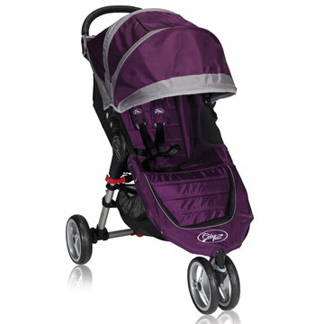 Baby Jogger City Mini Single 2013 Stroller Purple / Gray