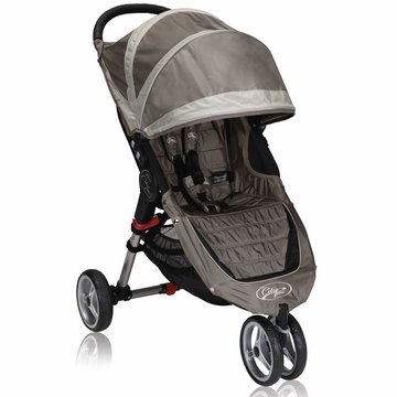 Baby Jogger City Mini Single 2013 Stroller Sand / Stone