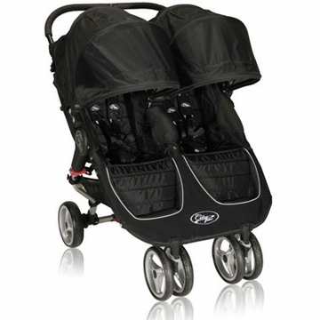 Baby Jogger City Mini Double Black / Gray