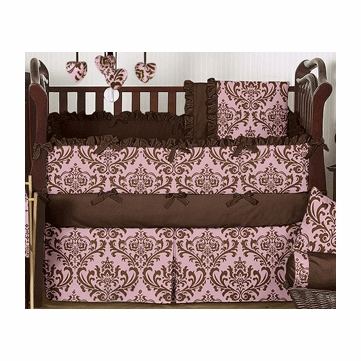Sweet JoJo Designs Nicole 9 Piece Crib Bedding Set