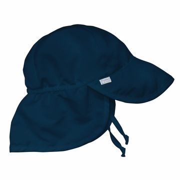 iPlay Solid Flap SunPro Hat - Navy - Newborn (0-6 mo)