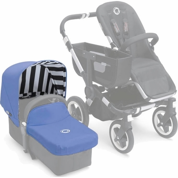 Bugaboo Donkey Tailored Fabric Set in Jewel Blue
