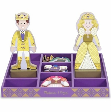 Melissa & Doug Magnetic Dress-Up - Prince & Princess