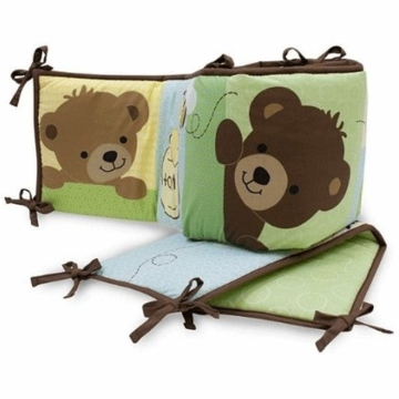 Bedtime Originals Honey Bear Bumper