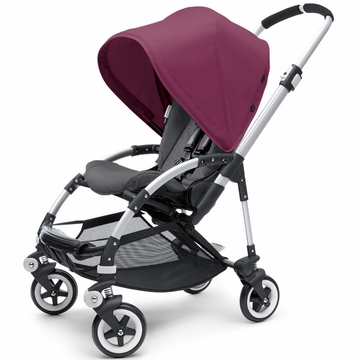 Bugaboo Bee Plus Stroller - Black / Deep Purple
