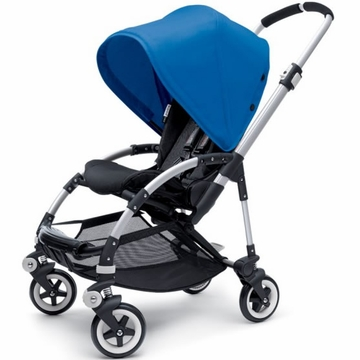 Bugaboo Bee Plus Stroller - Black / Royal Blue