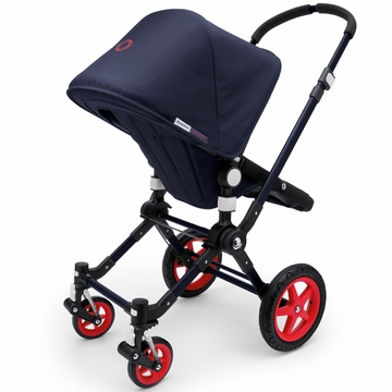 Bugaboo Cameleon 3 Special Collection Neon Stroller - Blue/Red