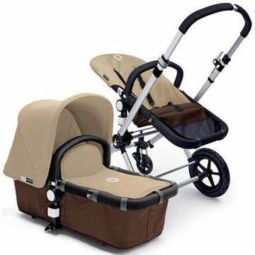 Bugaboo Cameleon Plus - Brown Base / Sand Fabric