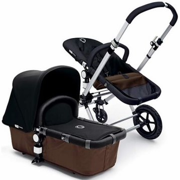 Bugaboo Cameleon Plus - Brown Base / Black Fabric - Outlet