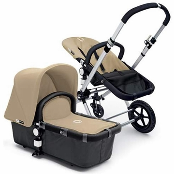Bugaboo Cameleon Plus - Grey Base / Sand Fabric