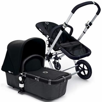 Bugaboo Cameleon Plus - Grey Base / Black Fabric