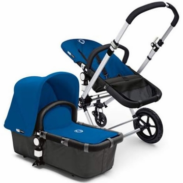 Bugaboo Cameleon Plus - Grey Base / Royal Blue Fabric