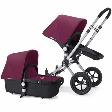 Bugaboo Cameleon Plus - Grey Base / Purple Fabric