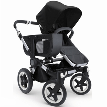 Bugaboo Donkey Compact Fold Mono Stroller in Black/Black