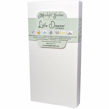 Moonlight Slumber Little Dreamer All Foam Crib Mattress with Dual Firmness