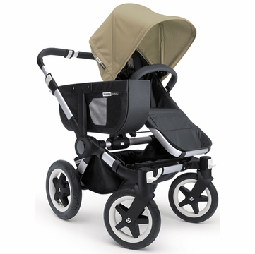 Bugaboo Donkey Compact Fold Mono Stroller in Black/Sand