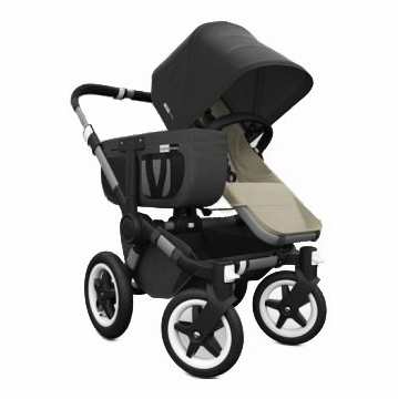 Bugaboo Donkey Compact Fold Mono Stroller in Sand/Black