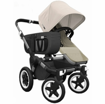 Bugaboo Donkey Compact Fold Mono Stroller in Sand/Off-White