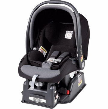 Peg Perego Primo Viaggio SIP 30/30 Infant Car Seat in Stone (Black)