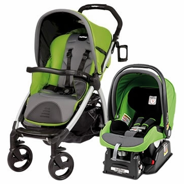 Peg Perego Book & Viaggio Travel System - Mentha (Green)