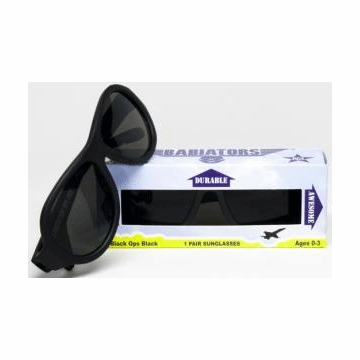 Junior Babiator Sunglasses - Black Ops Black (1-3 Years)