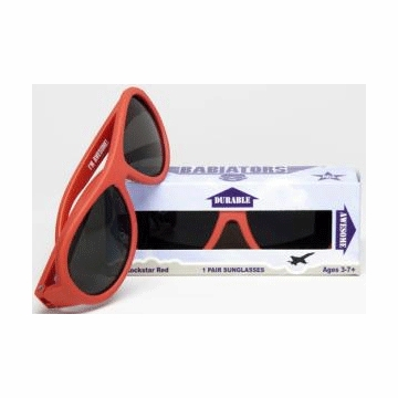 Classic Babiator Sunglasses - Rockstar Red (3+ Years)