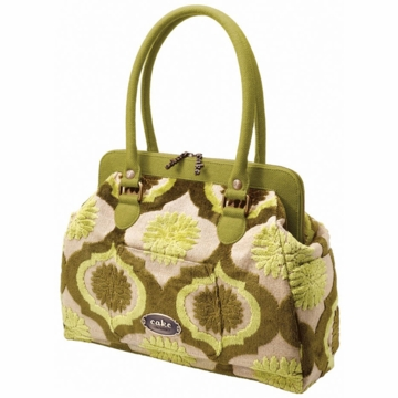 Petunia Pickle Bottom Cosmopolitan Carryall Key Lime Cream Cake