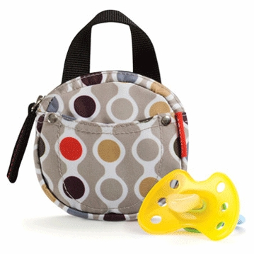 Skip Hop Pacifier Pocket in Wave Dot