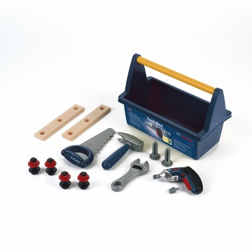 Theo Klein Bosch Toy Tool Box with Ixolino