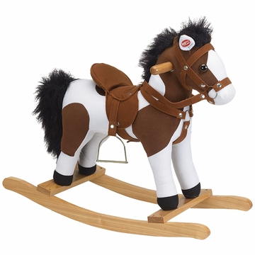 Charm Company Rocking Horse with Stirrup & Sound