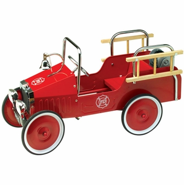 Charm Company Jalopy Pedal Fire Truck