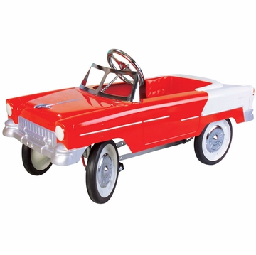 Charm Company 55 Classic Red Metal Pedal Car