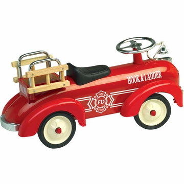 Charm Company Speedster Fire Truck