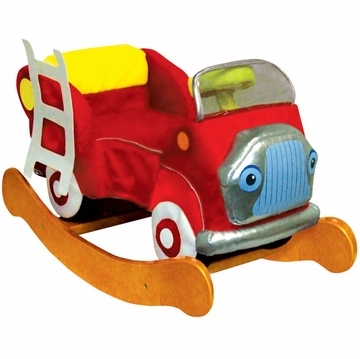 Charm Company Fire Engine Rocker