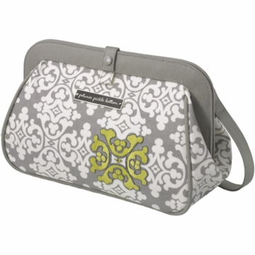 Petunia Pickle Bottom Cross Town Clutch in Breakfast in Berkshire